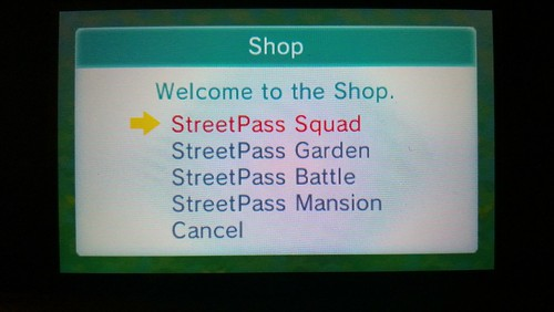 New StreetPass games for Nintendo 3DS