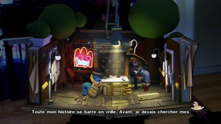 Wonderbook : Diggs Détective Privé - Screenshot 1