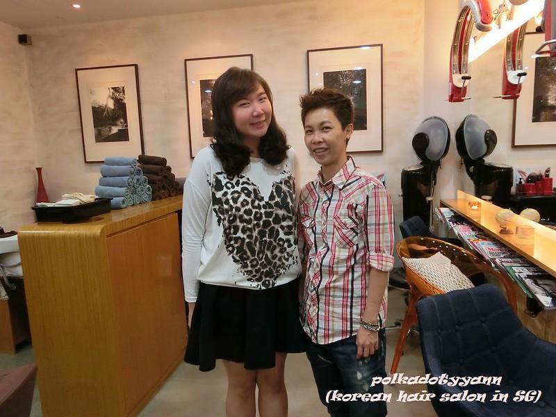 Polkydotyann @ Aqua Korean Hair Salon