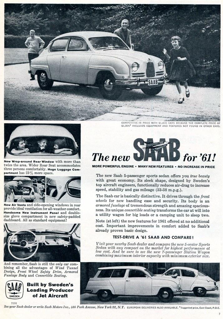 SAAB 60's Advertising