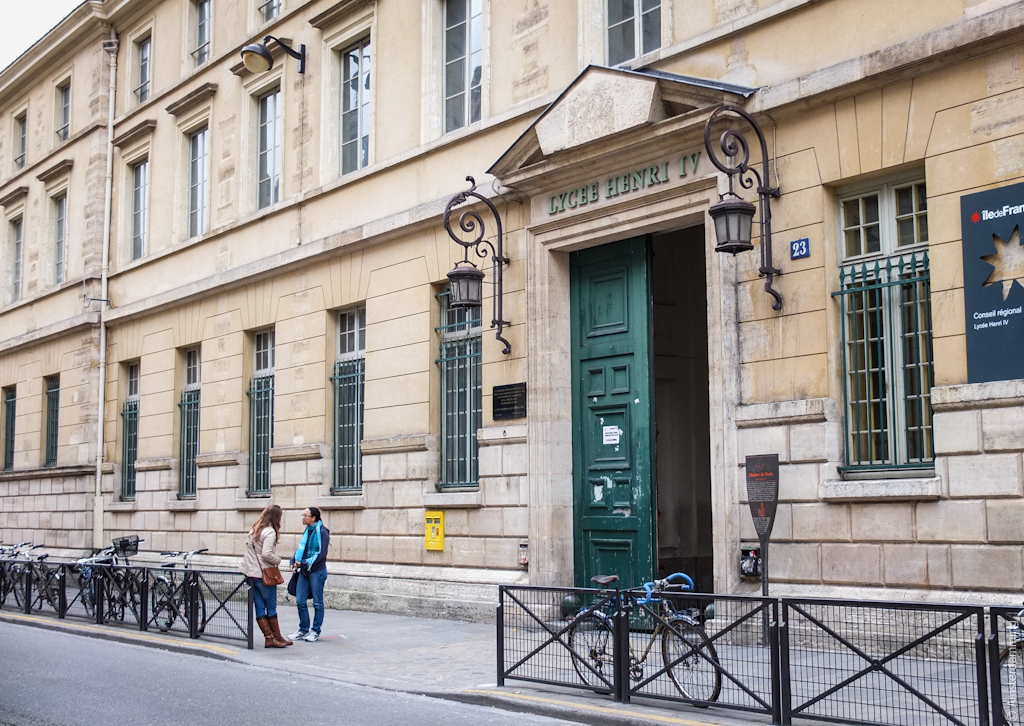 Paris, School in Quartier Latin