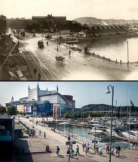 Gothenburg, Lilla Bommen 1921 / 2013