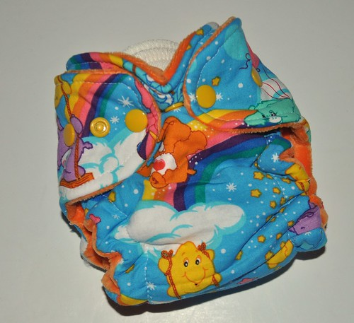 Bumstoppers Newborn Care Bears Fitted **New Style**