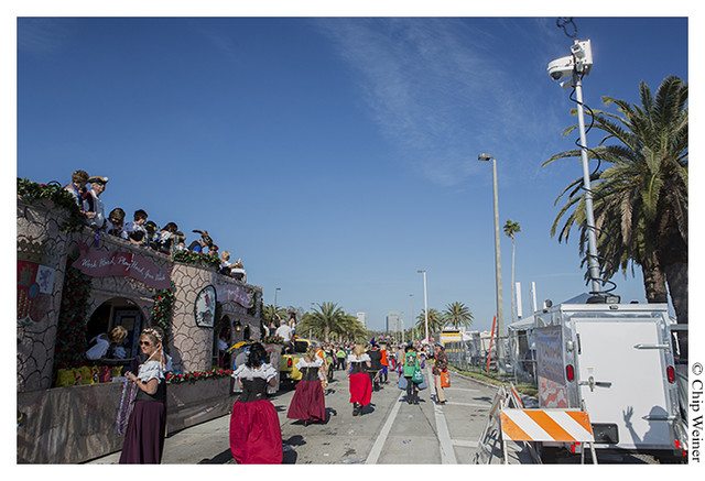 CCTV Cameras keep an eye on the 2013 Gasparilla Day Parade