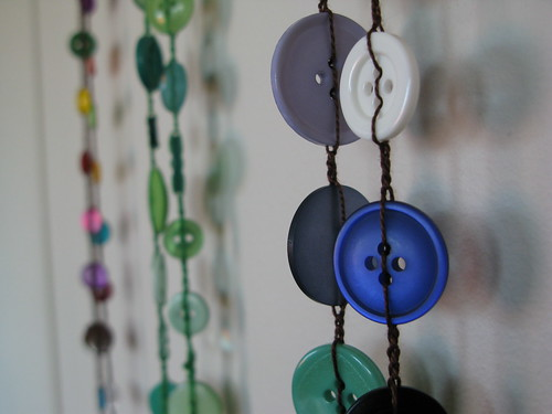 Handmade Button Necklaces