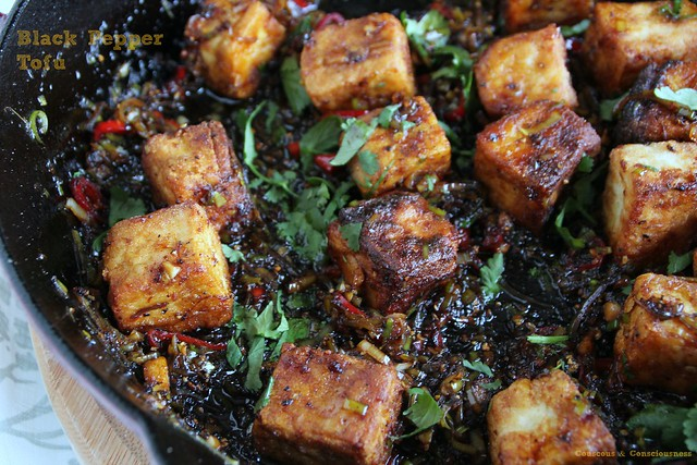 Black Pepper Tofu 2