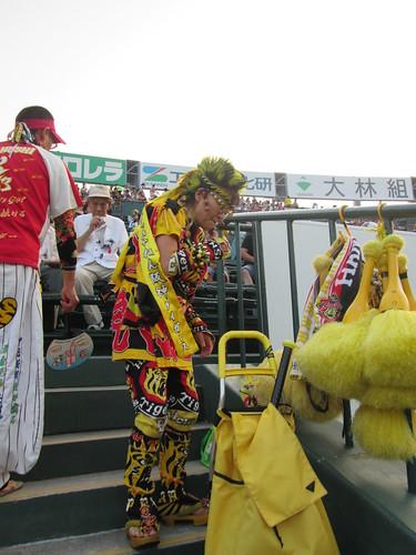 Hanshin Tigers mega fan