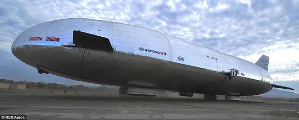 """消失75年后 巨型""""两栖飞艇""""将重新飞上天-玩意儿"""