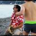 """Tournage de """"Au Bord De La Mer"""", dernier clip Pascal Mono. Photos Flora Doin"""