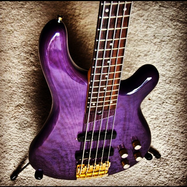 Photo:New (old) Fernandes Bass By ArtBrom