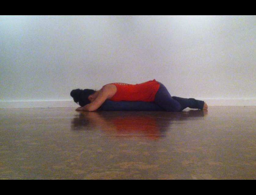 Yoga Position Table Top Start in a Table Top Position