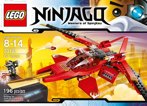 LEGO Ninjago Kai Fighter 70721 Box