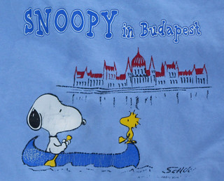 Budapest - Snoopy Shirt