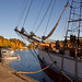 Schooner Vega in Gamleby viken by LindazFoto