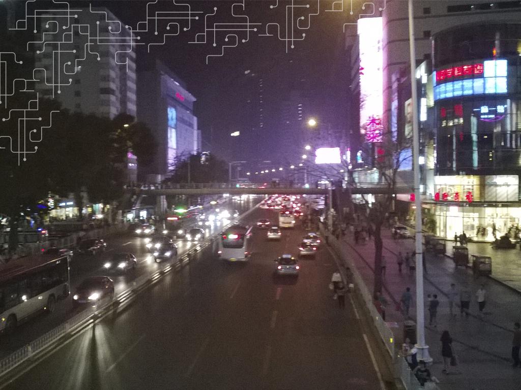 Tianjin Center - Alguns quarteirões dedicados unicamente à roupa e acessório