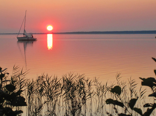 sunset sea sun lake nature water sailboat canon boot wasser sonnenuntergang natur sail sonne segeln segelboot inlandsea steinhudermeer binnenmeer ixus100 badeinselsteinhudermeer