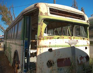 Old SF Muni Bus