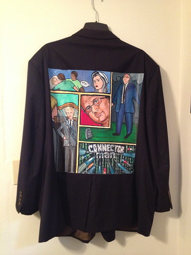 """Connector Man"" a jacket for Jerry Matczak"