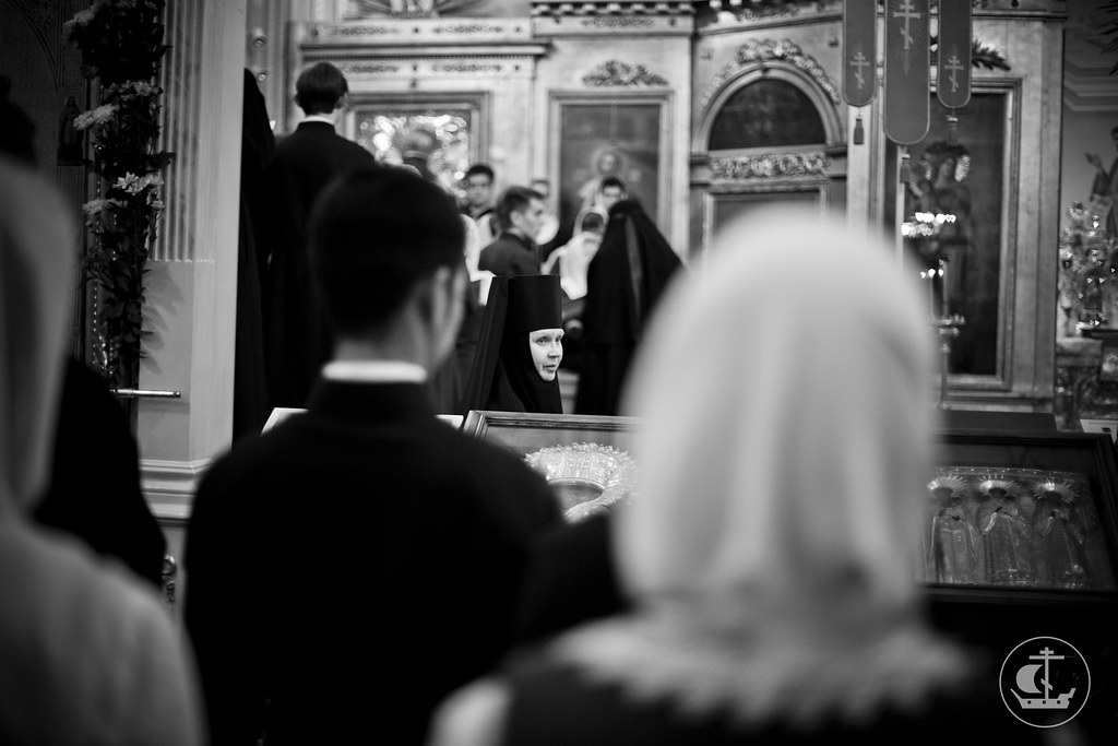 3 ноября 2013, Всенощное бдение накануне празднования Казанской иконы Божией Матери