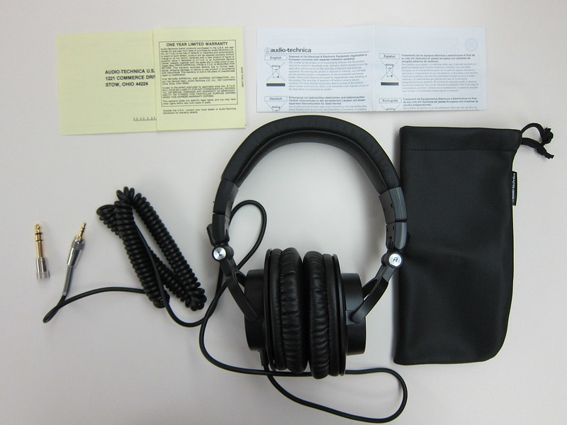ATH-M50 - Box Contents