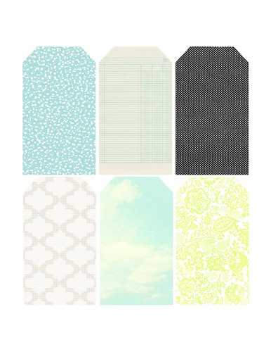 patterned tags PNG