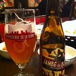 ベルギービール大好き!! ジャン・デ・ボア Jambe-de-Bois @赤坂レゼルブ