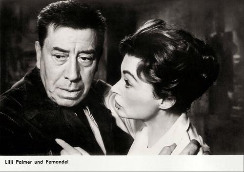 Fernandel, Lilli Palmer