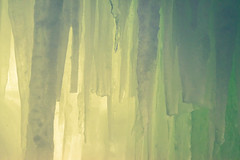 Green Abstract Ice