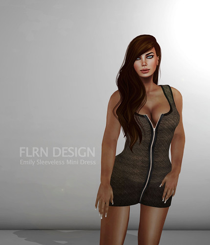 Emily Sleeveless Mini Dress by ~ ✫ FLRN BABY'S & FLRN DESIGN ✫ ~