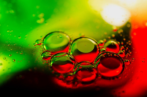 abstract water colors bubbles oil abstractphotography