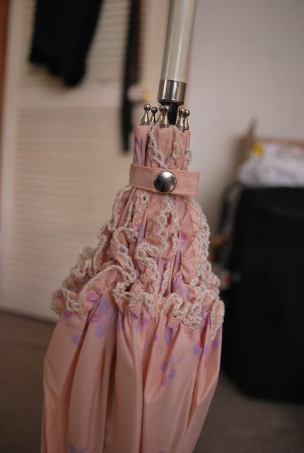 Pink umbrella 4