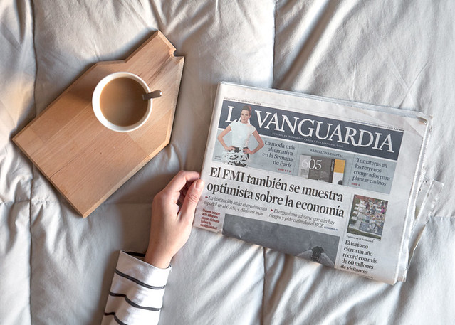 Depeapa en La Vanguardia