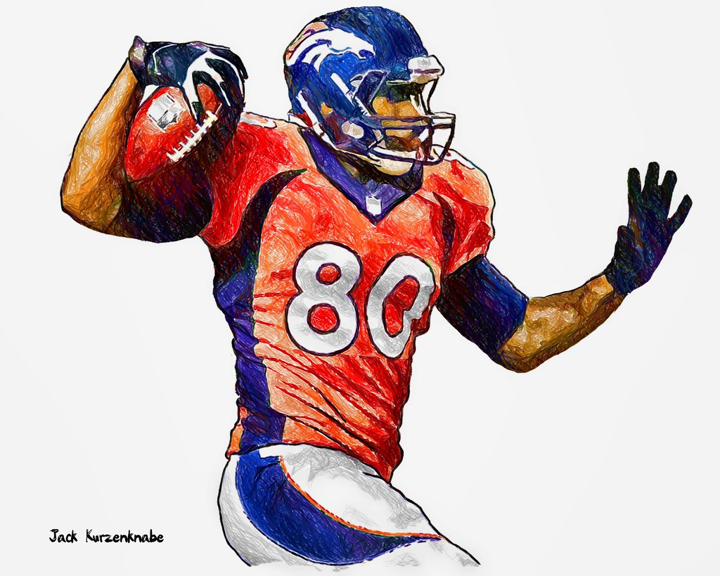 Nfl Football Player Drawings Www Imgkid Com The Image