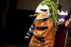 The Joker cosplayer