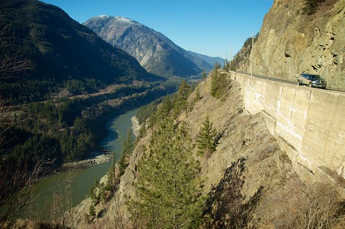 canada history river highway britishcolumbia transportation