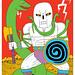 Skull Warrior by Jack Teagle