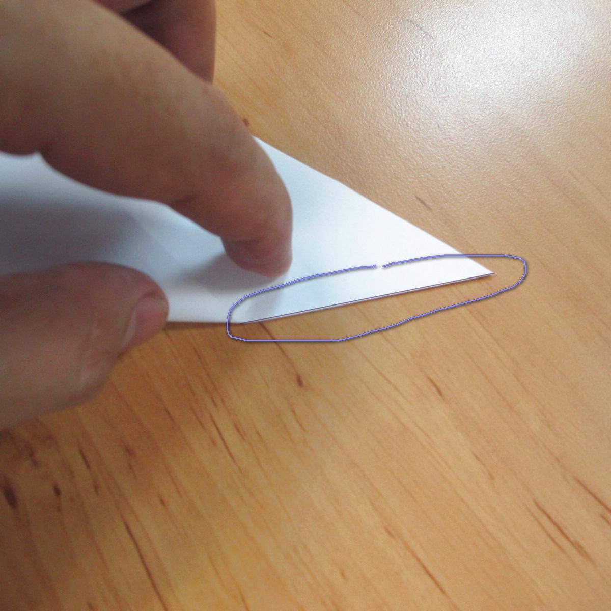 สอนการพับกระดาษเป็นที่ใส่ของรูปกลีบกุหลาบ (Rose box origami) 022