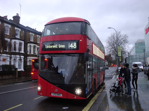London United LT144 on Route 148, Shepherd's Bush