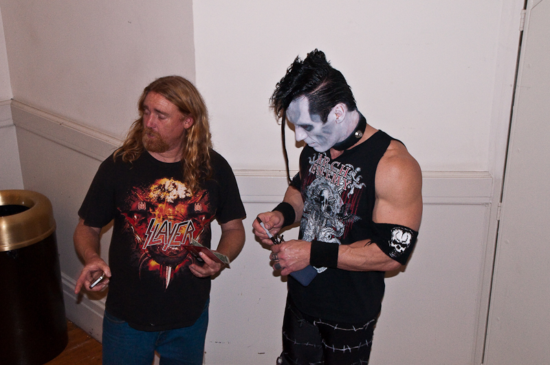 Kirk von Hammett's Crypt @ Fear Festevil 02-08-2014