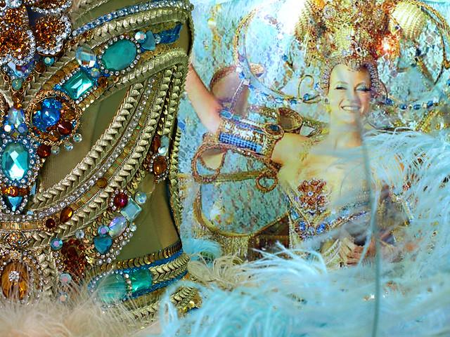 Leo Martinez, Carnival queen costume, Santa Cruz, Tenerife