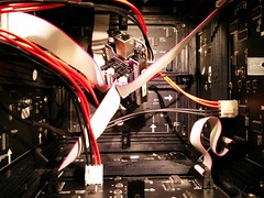 Cubescroller temporary wiring