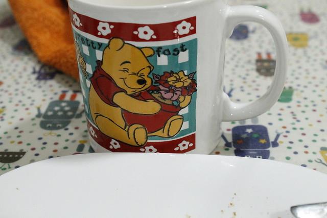 taza de leche - winie de pooh