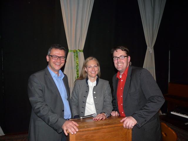 Politischer Aschermittwoch 2014 mit Dr. Frank Hauser, Julia Ney und André Hartmann