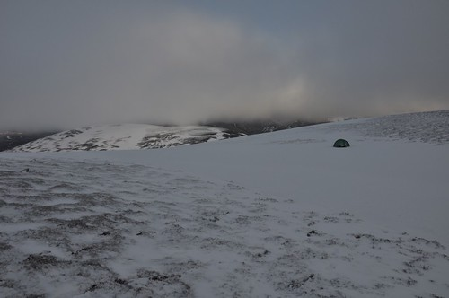 Camp near Coire na Creige