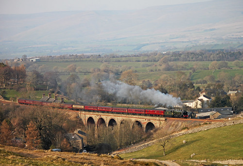 46115 Scots Guardsman - The Winter Cumbrian mountain express