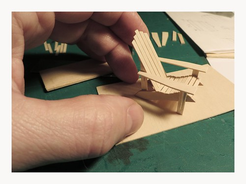 Adirondack Chair at 1-24th scale
