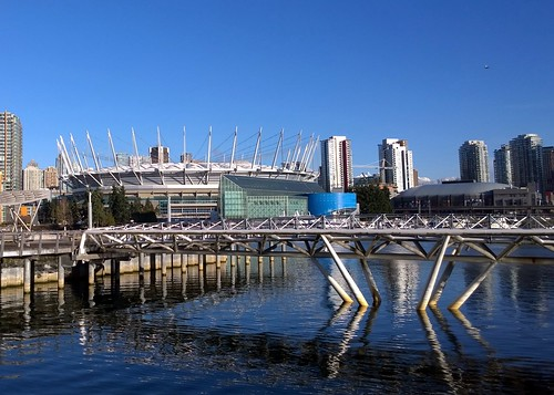 BC Place and Canoe Bridge