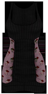 [NEW ON SALE!] *P* Nya MESH Dress ~Rockabilly~ Pink FRONT