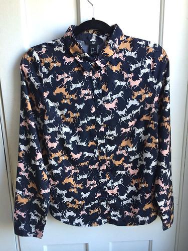 horse blouse