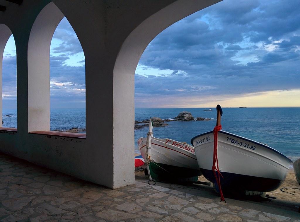 Boats in Calella de Palafrugell